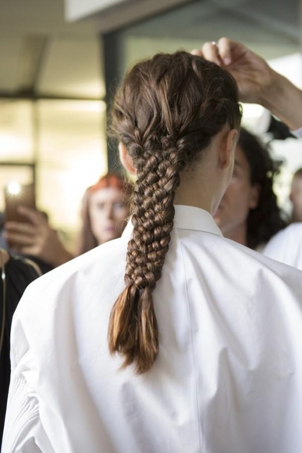 Haarfarben Trends neues dunkelblond