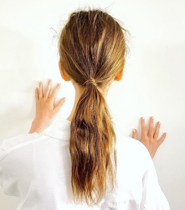Haarfarben Trends rötlich und blond