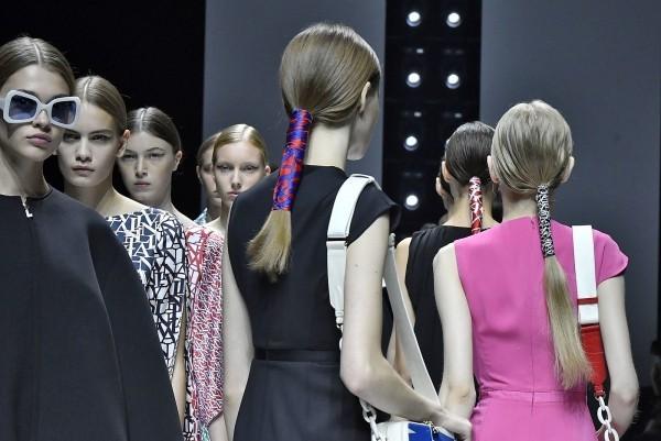 Haarfarben Trends retro flair