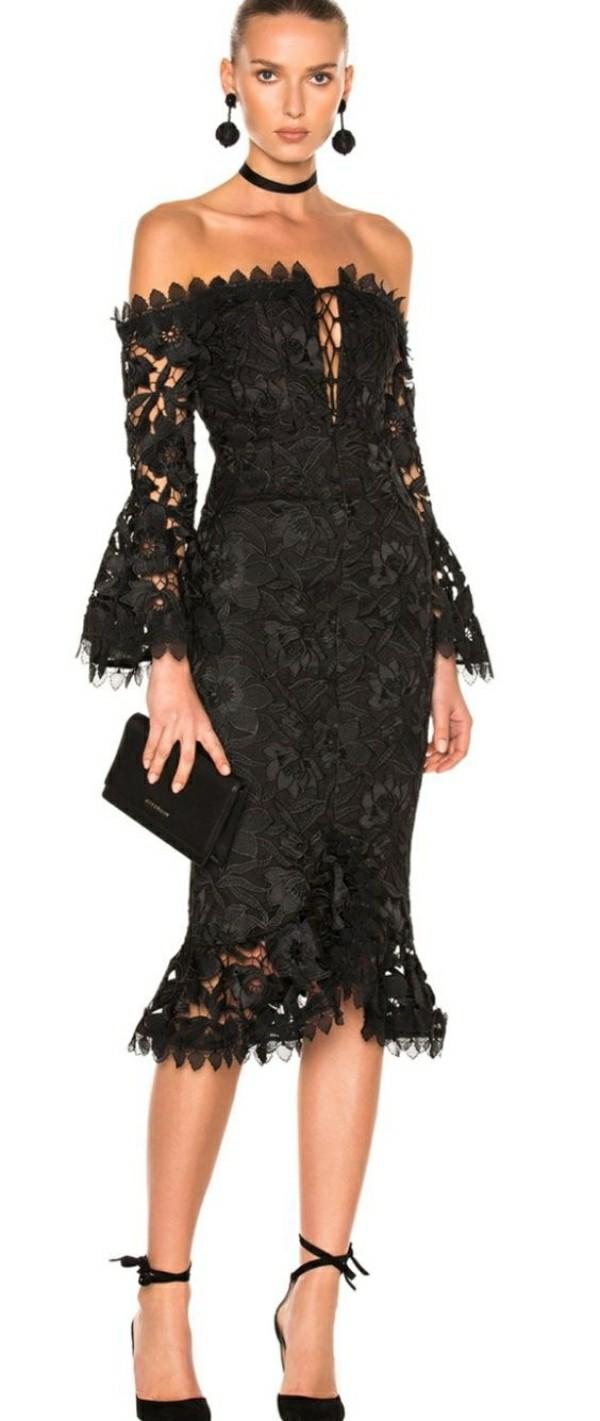 Hochzeitsgast Kleider schwarze bekleidung
