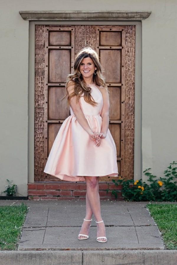 Hochzeitsgast Kleider tolles rosa