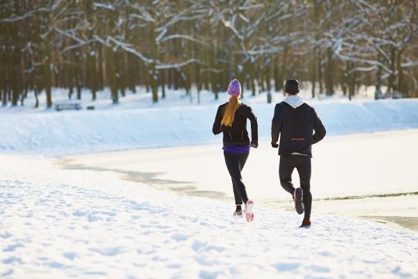 Joggen im Winter sehr gesund aber nicht jedermanns Sache