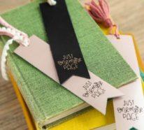 Lesezeichen basteln – über 40 kreative Ideen, wie man Lesezeichen selber machen kann