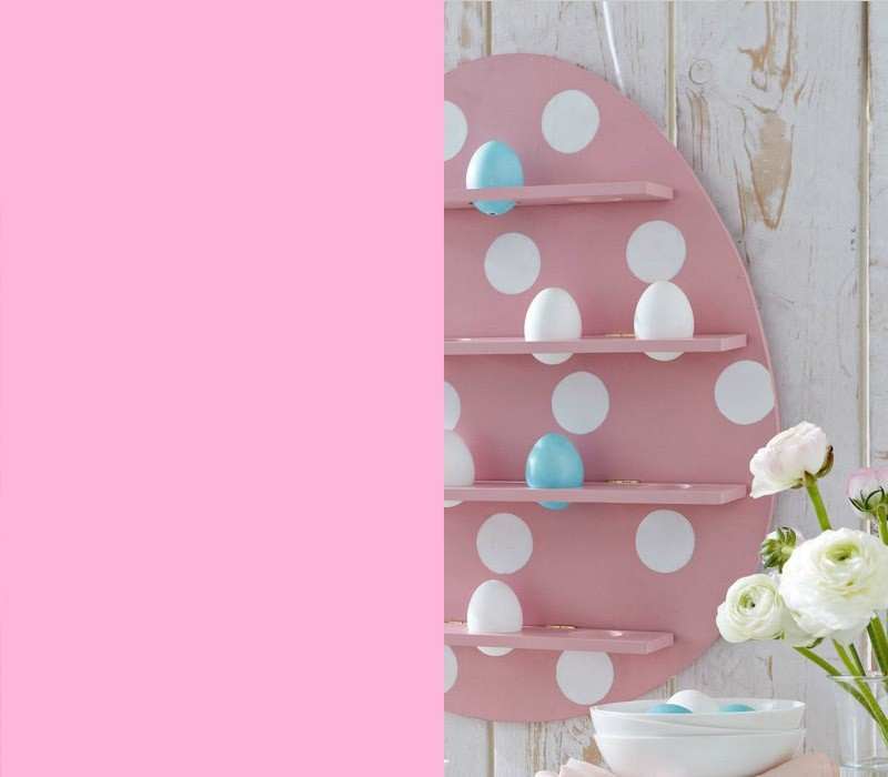 Rosa beliebte Farbe Osterdeko Bedeutung der Farben