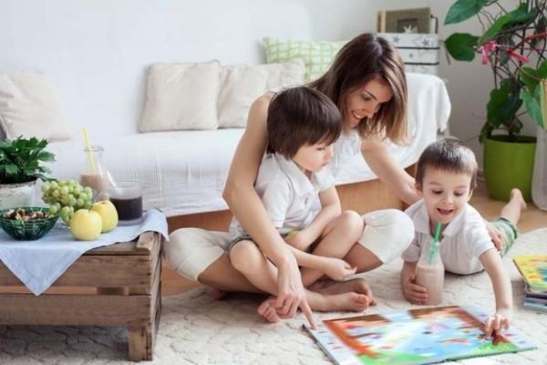 Tipps gegen Winterdepression mit Kindern zu Hause