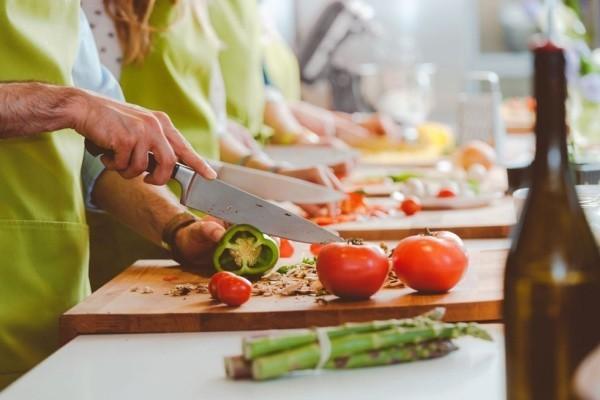 Valentinstag Teilnahme am Kochkurs Zeit zu zweit verbringen