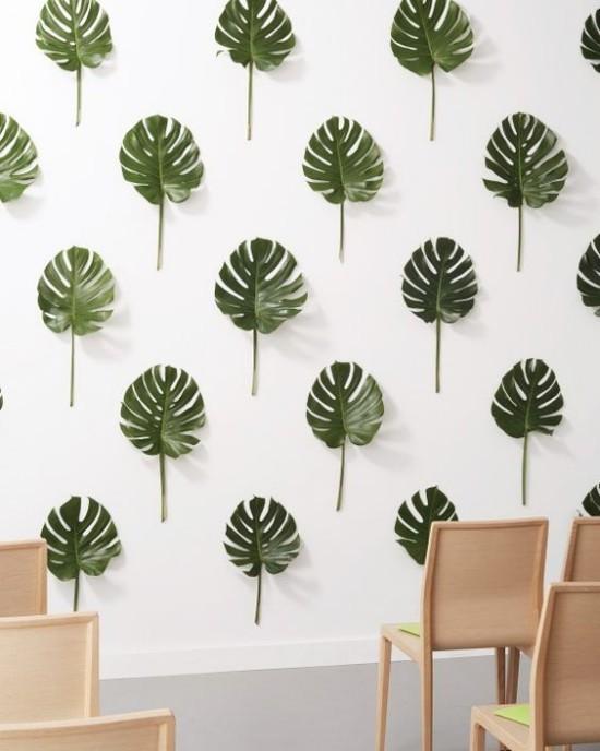 Wandgestaltung Ideen Thema Wald