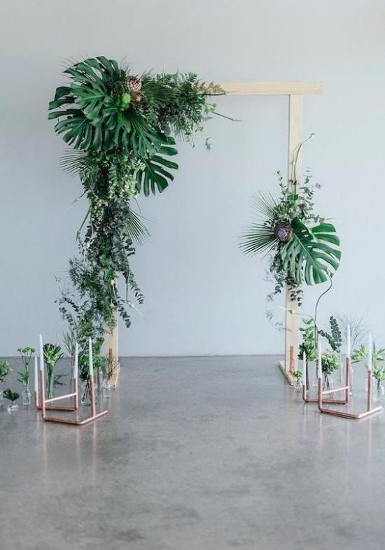 Wandgestaltung Ideen grüne Inspiration