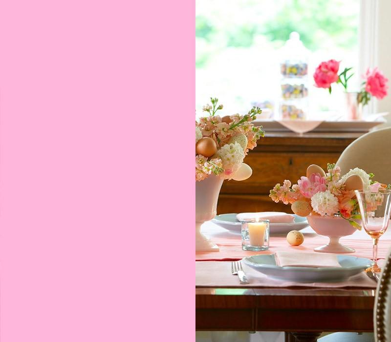 Zartes Rosa Vorliebe für Romantik Bedeutung der Farben