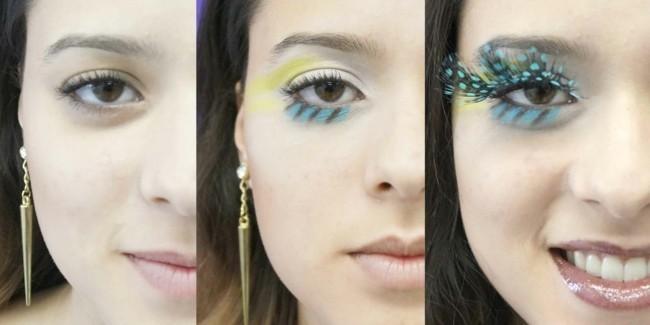 augen make up ideen karneval schminken fasching