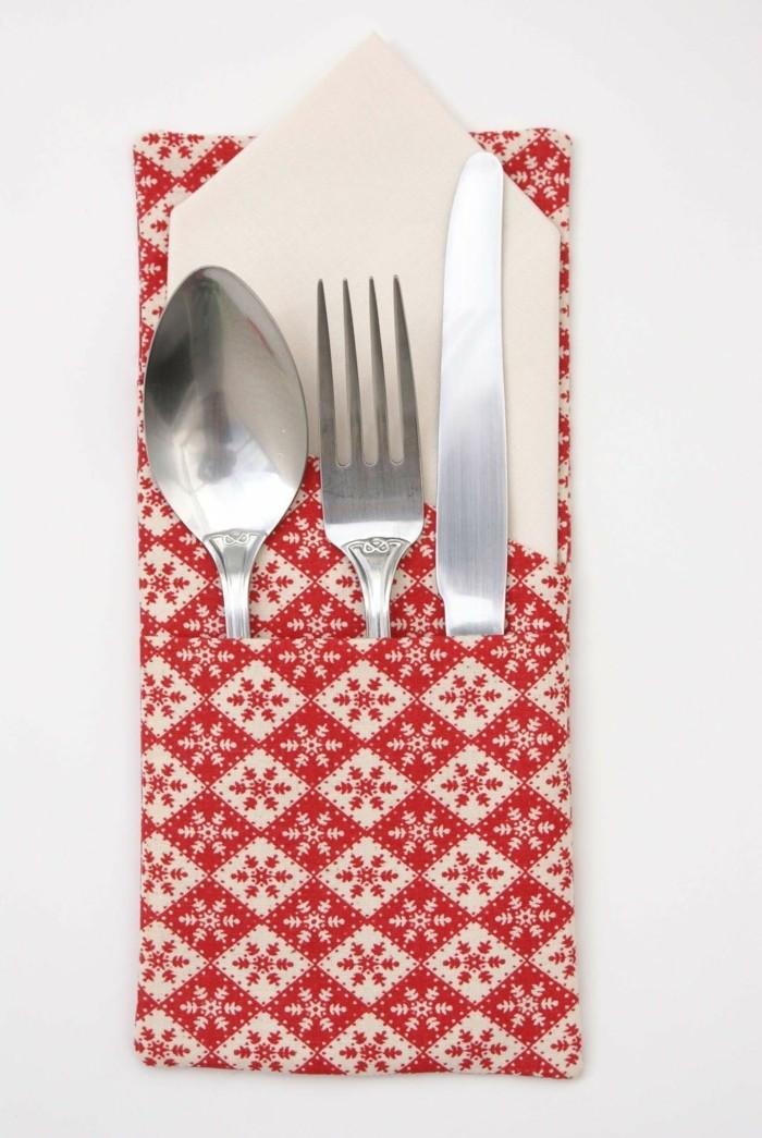 Bestecktasche Basteln Und Die Festliche Tischdeko Zu Ostern