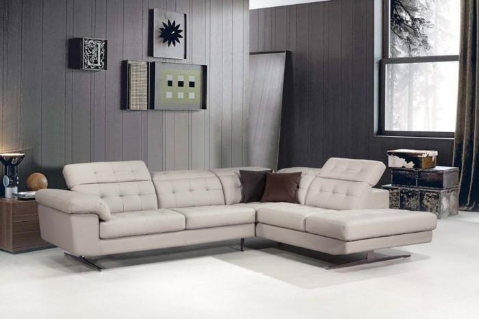 braun und schwarz designer sofa