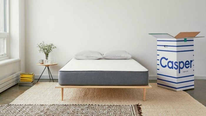 casper matratze ergonomisch gut schlafen einschlafstörungen weg