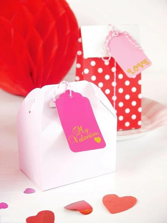 deko für den valentinstag gäste geschenke