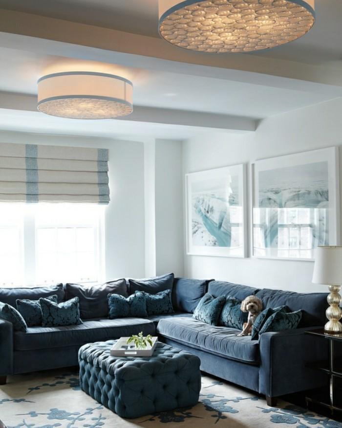 designer sofa in tollem dunkelgrau