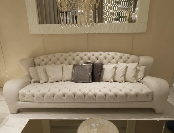 designer sofa interessante textur