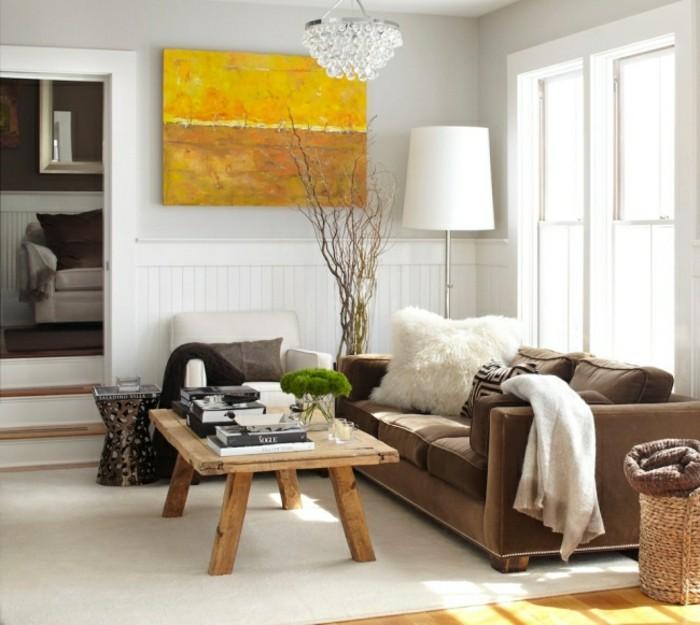 designer sofa tolles braunes möbelstück