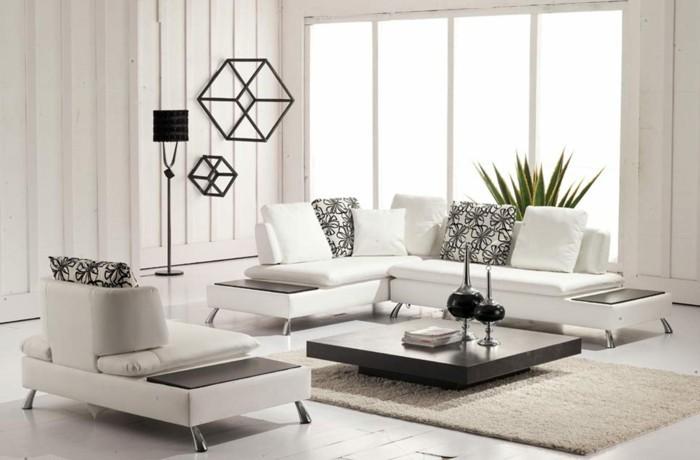 designer sofa weiße wohnlandschaft