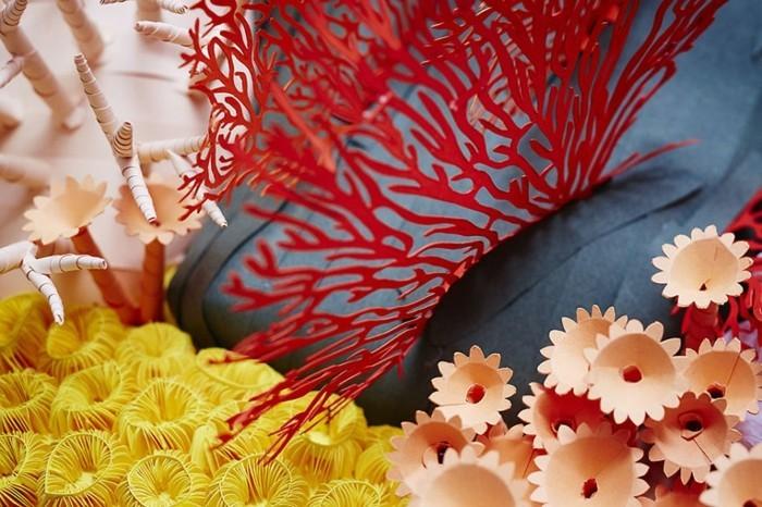 diy ideen deko Mlle Hipolyte korallen details