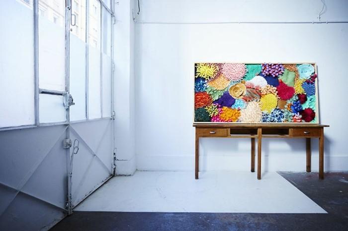 diy ideen deko Mlle Hipolyte korallen farbig attraktiv