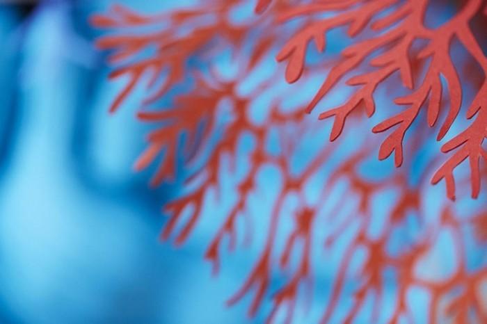 diy ideen deko Mlle Hipolyte korallen farbvielfalt