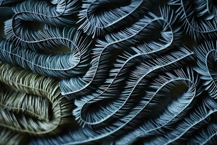 diy ideen deko Mlle Hipolyte korallen papier