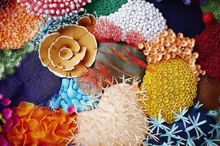 diy ideen deko Mlle Hipolyte korallen vielfalt