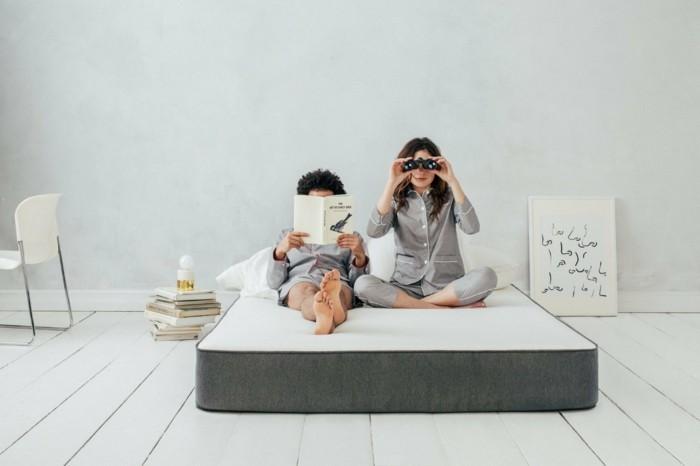 einschlafstörungen ergonomie im bett casper matratze