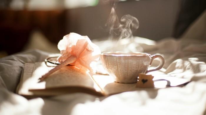 entlastungstag tee trinken tipps zum abnehmen