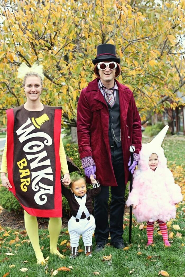 faschingkostueme fuer gruppen selber machen charlie und die schokoladenfabrik