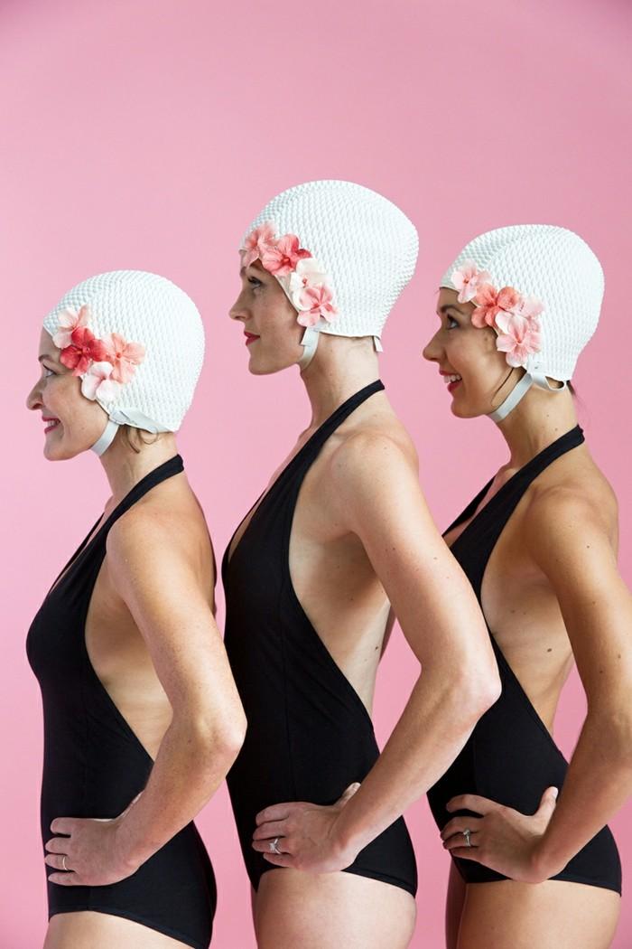 faschingkostueme fuer gruppen selber machen synchron swimmer