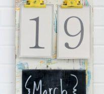 Geburtstagskalender basteln, denn es darf kein Geburtstag vergessen werden