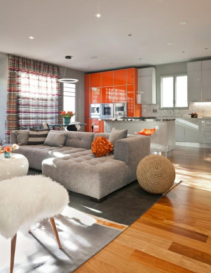 grau und modern designer sofa