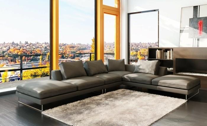graue farbe designer sofa