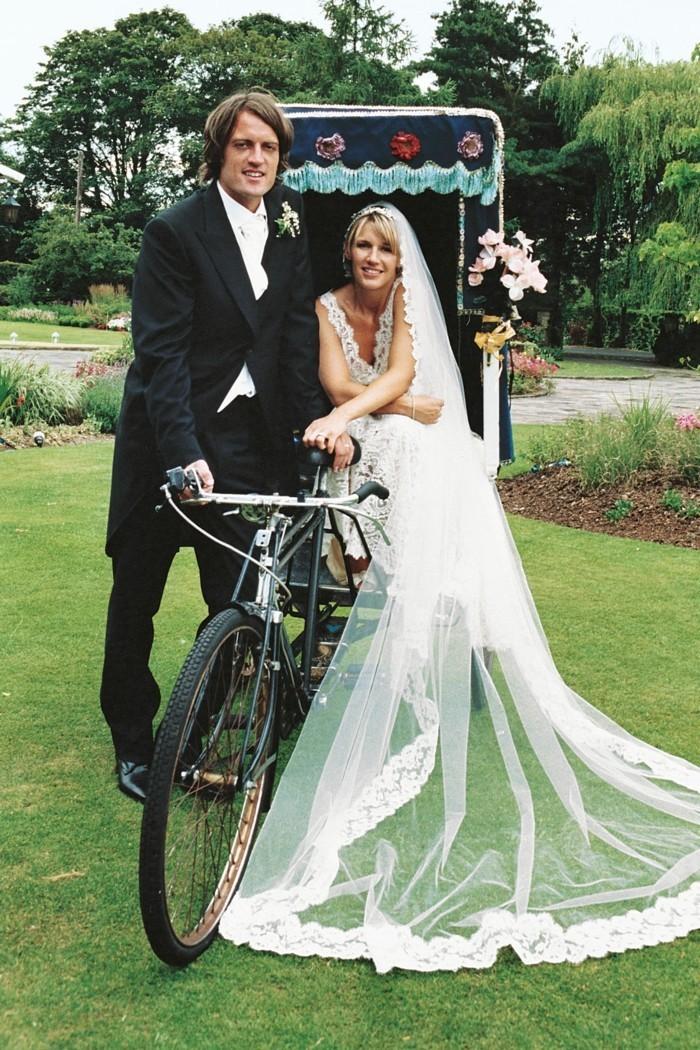 gruene hochzeit hochzeitsideen umweltfreundlich fahrrad