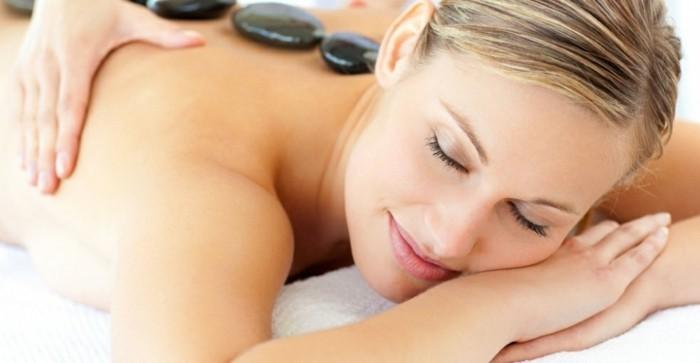 heisse schungit edelsteine gesunde massage