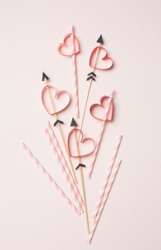 herzen und strohalme valentinstagsideen