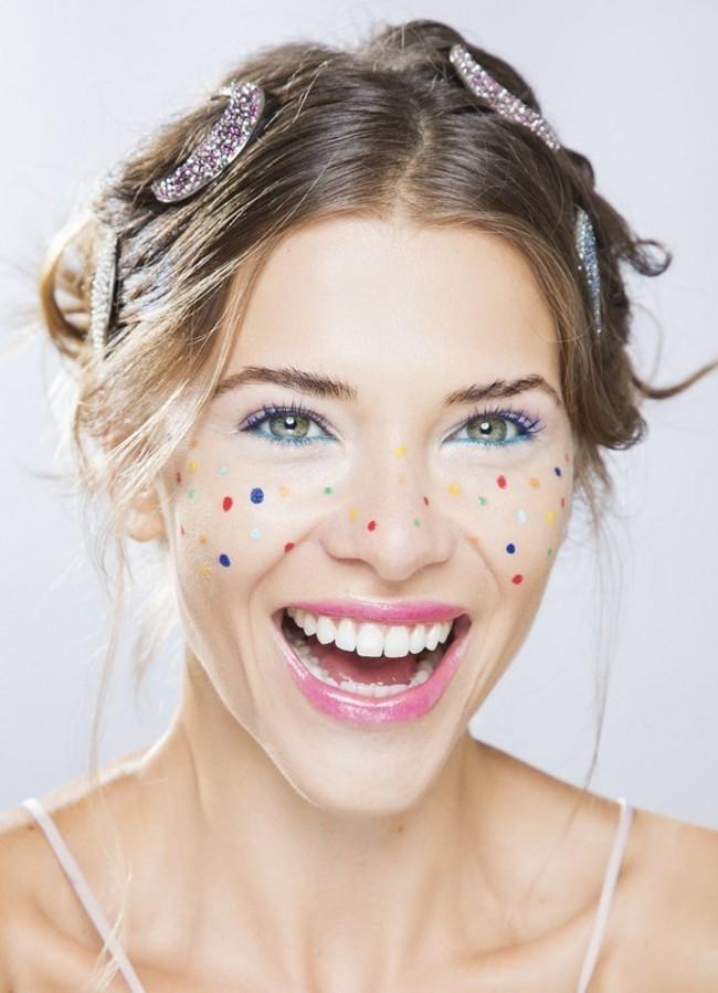 karneval ideen schminken fasching schminktipps mädchen