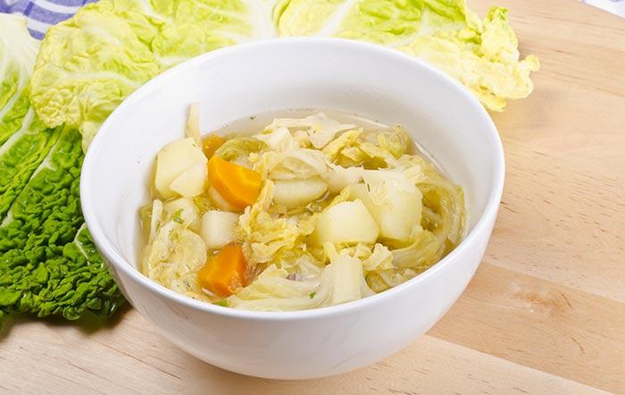 kartoffel möhren kohlsuppe gesund tipps zum abnehmen