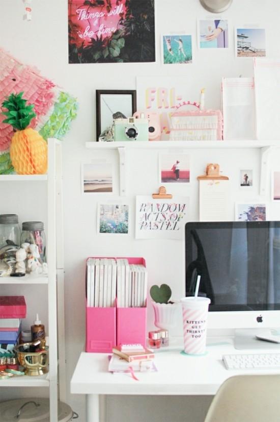 klemmbrett home office organisation ideen