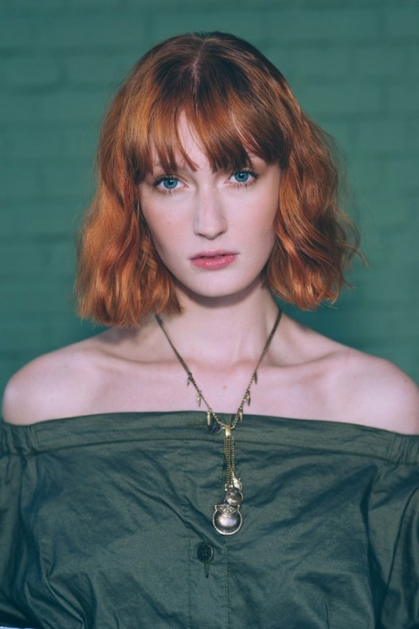 kurze frisur rot Haarfarben Trends