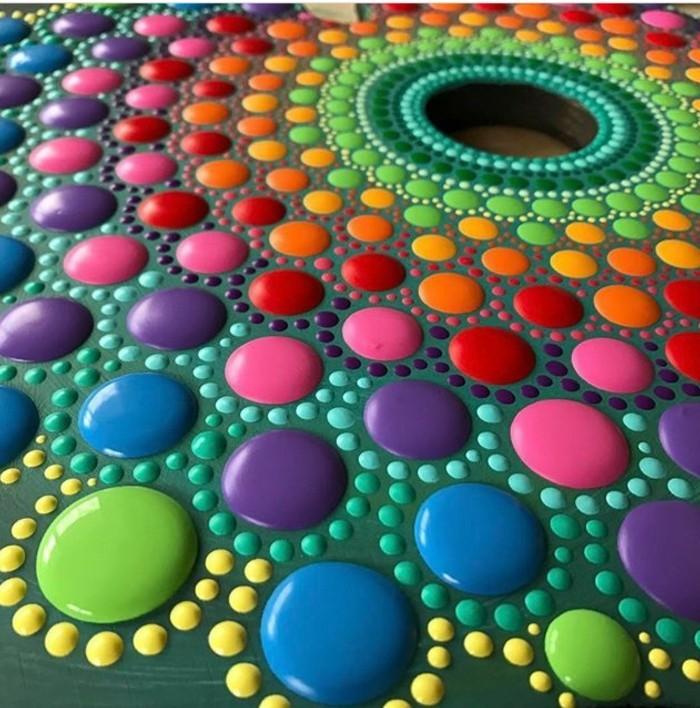 manala muster steine bemalen basteln mit naturmaterialien farbgestaltung