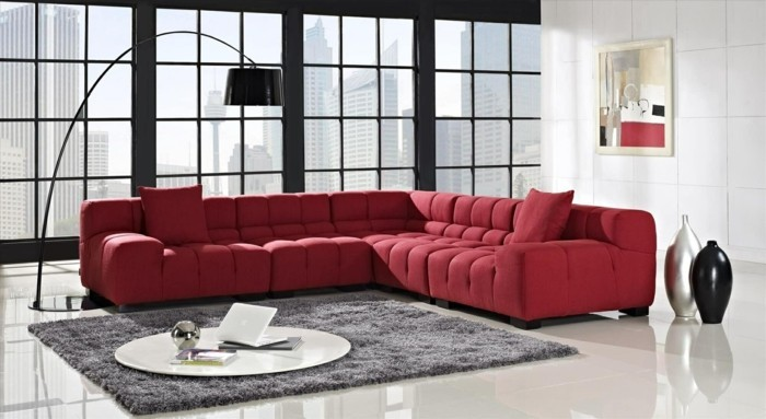 beautiful modern red sofa 21 for modern sofa ideas with modern red
