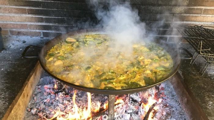 reste kochen restegourmet paella