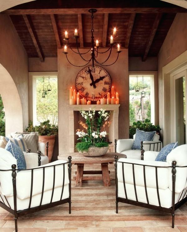 Rustikale deko im garten 35 reizvolle ideen f r mehr for Gartendeko kerzen