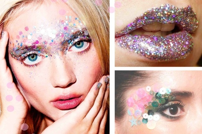 schminken fasching ideen zum karneval make up