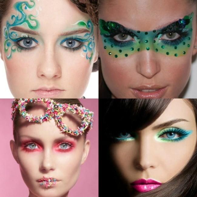 schminken fasching tipps zum karneval