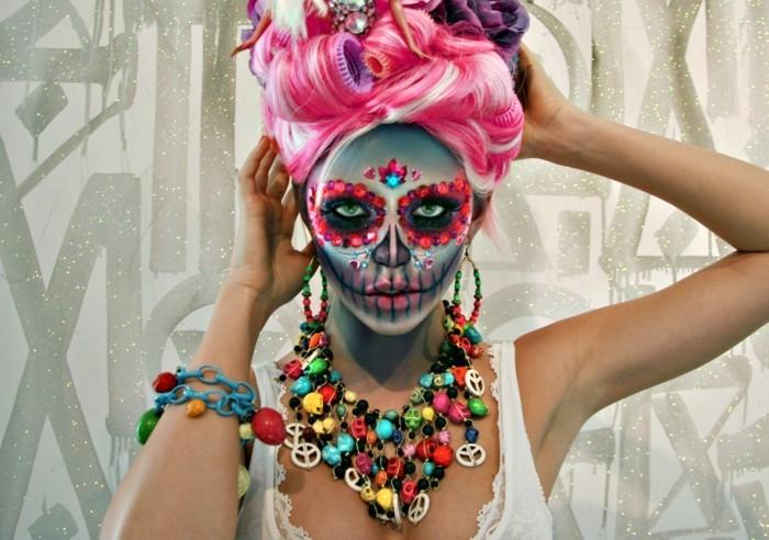 schminktipps karneval attraktive ideen frauen
