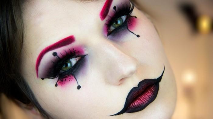 Schminktipps Karneval Fur Gross Und Klein Effektvoll Muss Das Make