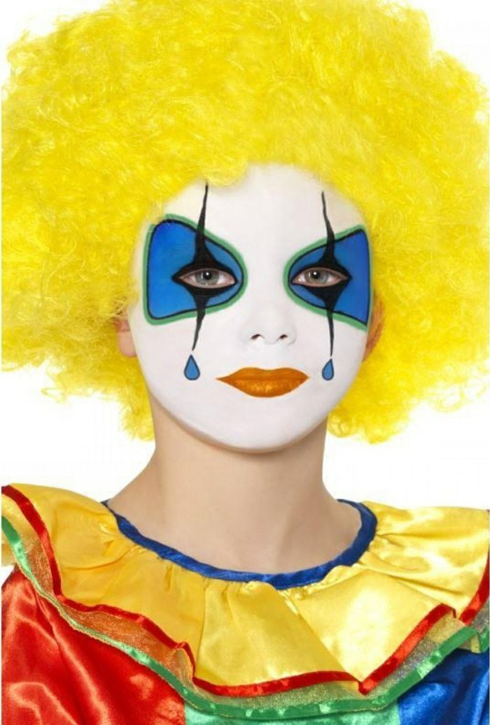 schminktipps karneval clown kostüm make up